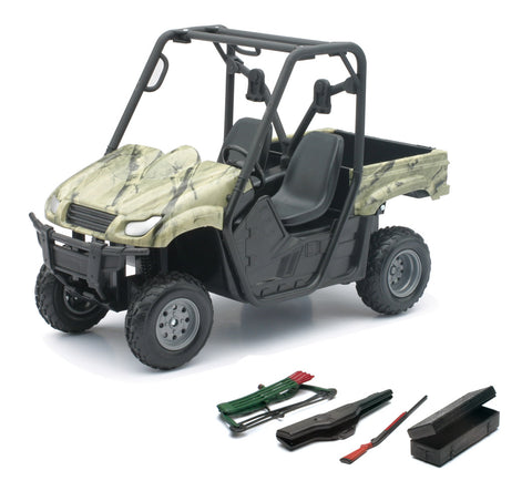 Moto a Escala Green Camo Side By Side ATV