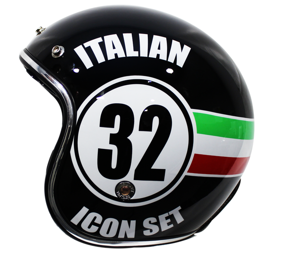 CASCO IMMORTALE 3/4 ITALIAN 32 | SKU: YM629-32