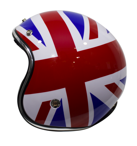 CASCO IMMORTALE 3/4 FLAG UK AZUL | SKU: YM629-FL