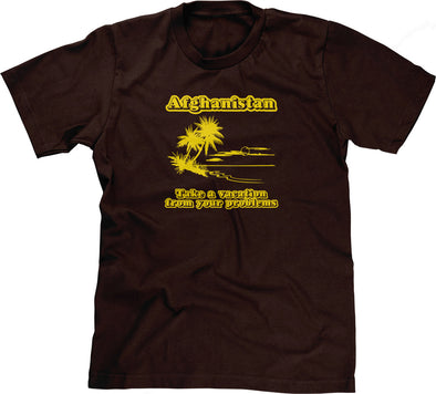 Afghanistan (Take A Vacation From Your Problems) T-Shirt