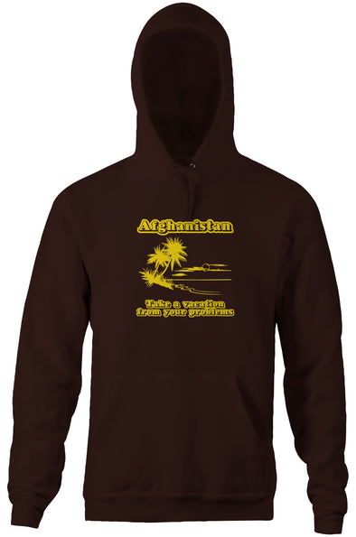 Afghanistan (Take A Vacation From Your Problems) Hoodie