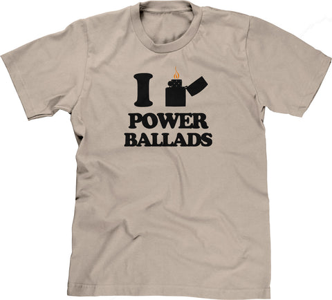 I Light Power Ballads T-Shirt