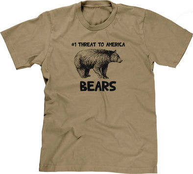 #1 Threat To America (Bears) T-Shirt