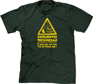 Explosives Technician T-Shirt