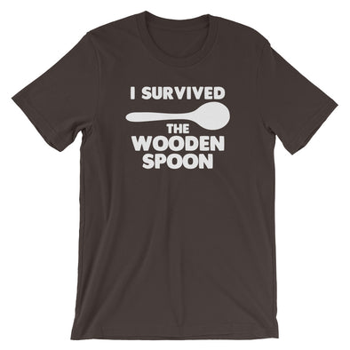 I Survived The Wooden Spoon T-Shirt (Unisex)
