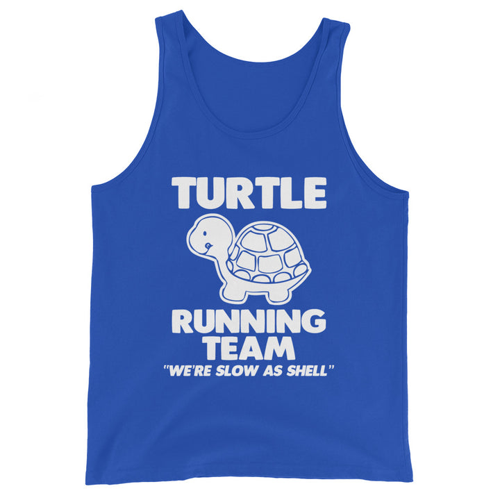 Turtle Running Team (We're Slow As Shell) Tank Top (Unisex)