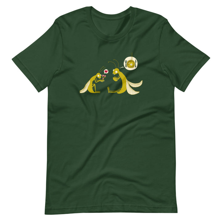 Praying Mantis T-Shirt (Unisex)