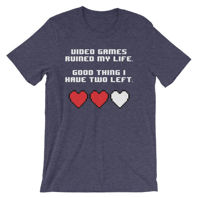 Video Games Ruined My Life T-Shirt (Unisex)