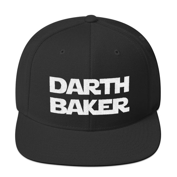 Darth Baker Snapback Hat