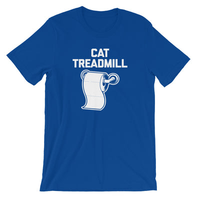 Cat Treadmill T-Shirt (Unisex)