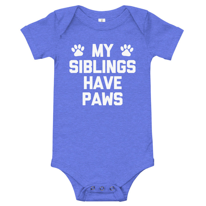 My Siblings Have Paws Infant Bodysuit (Baby)