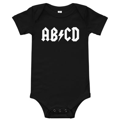 AB/CD Infant Bodysuit (Baby)