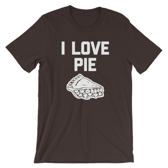 I Love Pie T-Shirt (Unisex)
