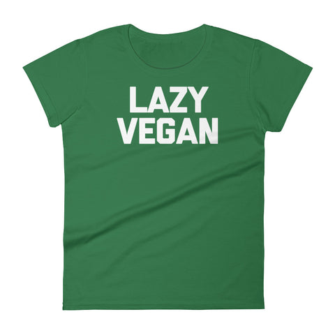 Lazy Vegan T-Shirt (Womens)