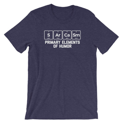 Sarcasm: Primary Elements Of Humor T-Shirt (Unisex)