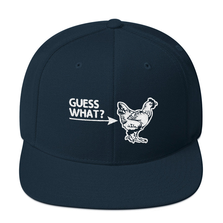 Guess What? Chicken Butt Snapback Hat