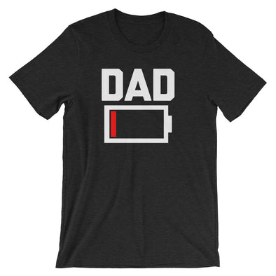 Dad Low Battery T-Shirt (Unisex)