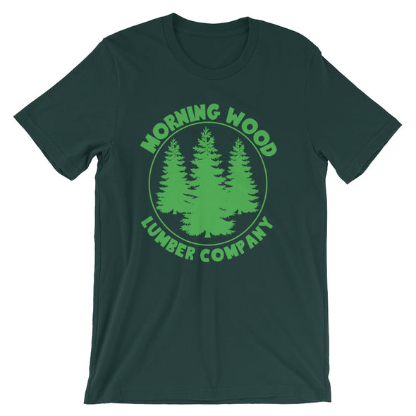 Morning Wood Lumber Company T-Shirt (Unisex)