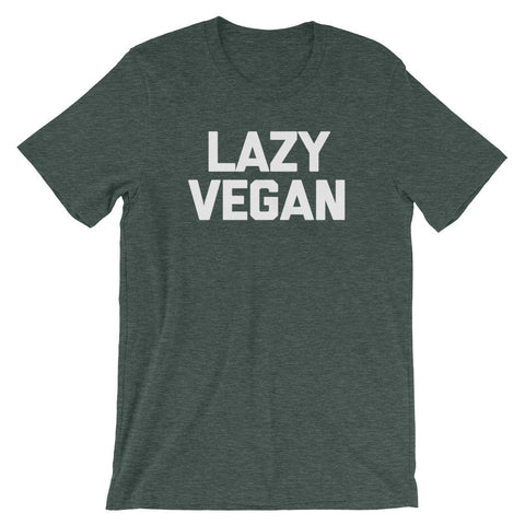 Lazy Vegan T-Shirt (Unisex)
