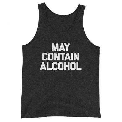 May Contain Alcohol Tank Top (Unisex)