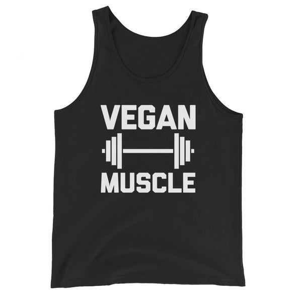 Vegan Muscle Tank Top (Unisex)