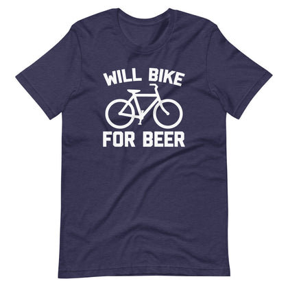 Will Bike For Beer T-Shirt (Unisex)