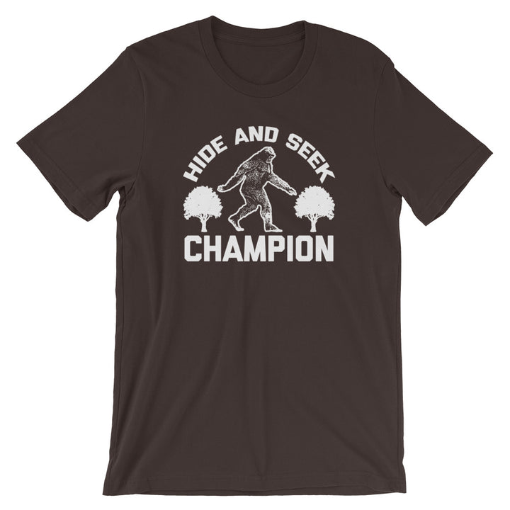 Hide & Seek Champion Bigfoot T-Shirt (Unisex)