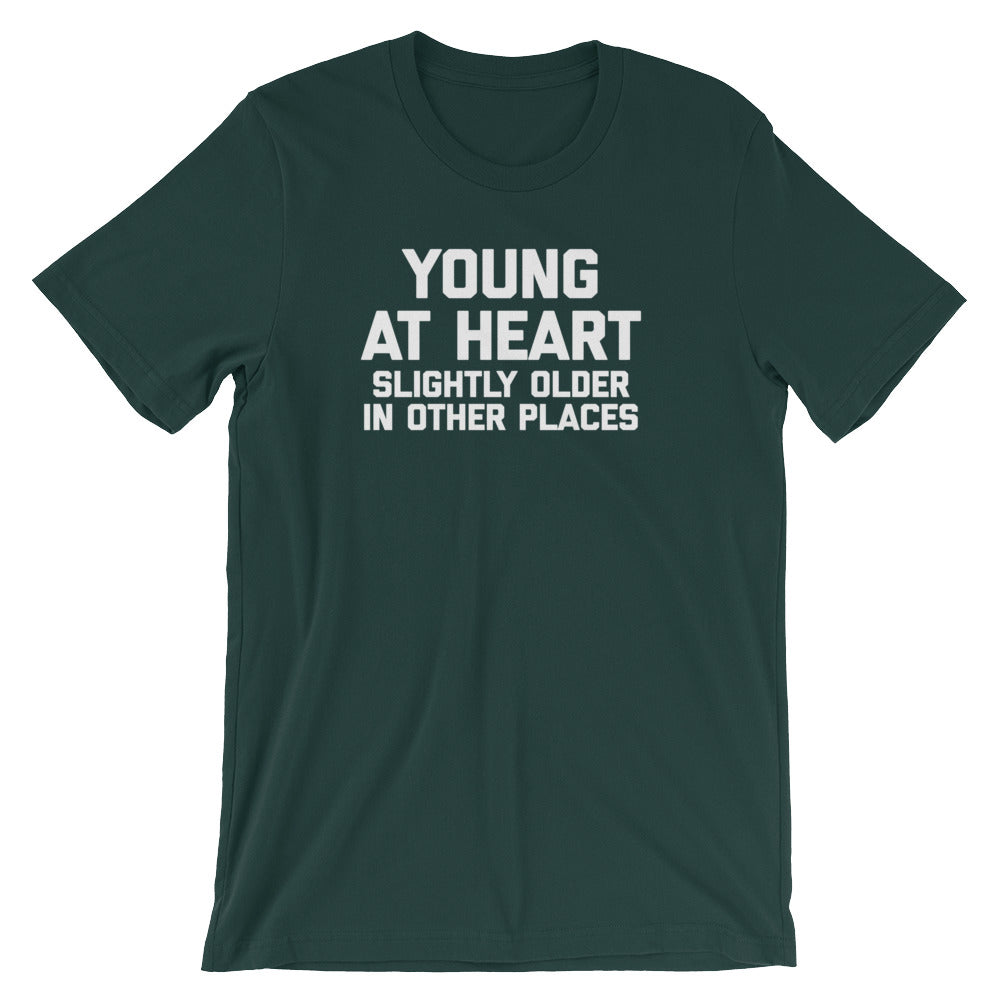 Cute Grandma T-Shirt slightly older in other places t shirt Young at heart Retirement Gifts funny 60th shirt Young At Heart T-Shirt