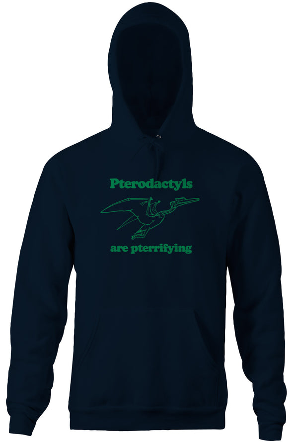 Pterodactyls Are Pterrifying Hoodie