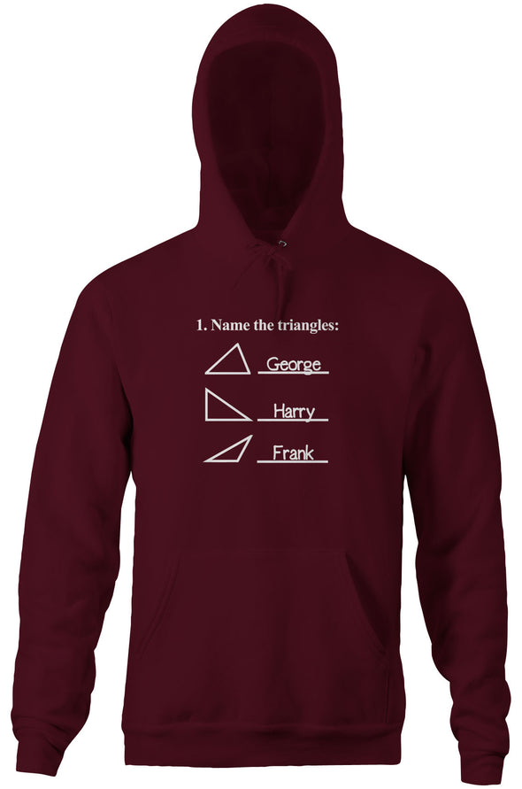 Name The Triangles (Math Problem) Hoodie