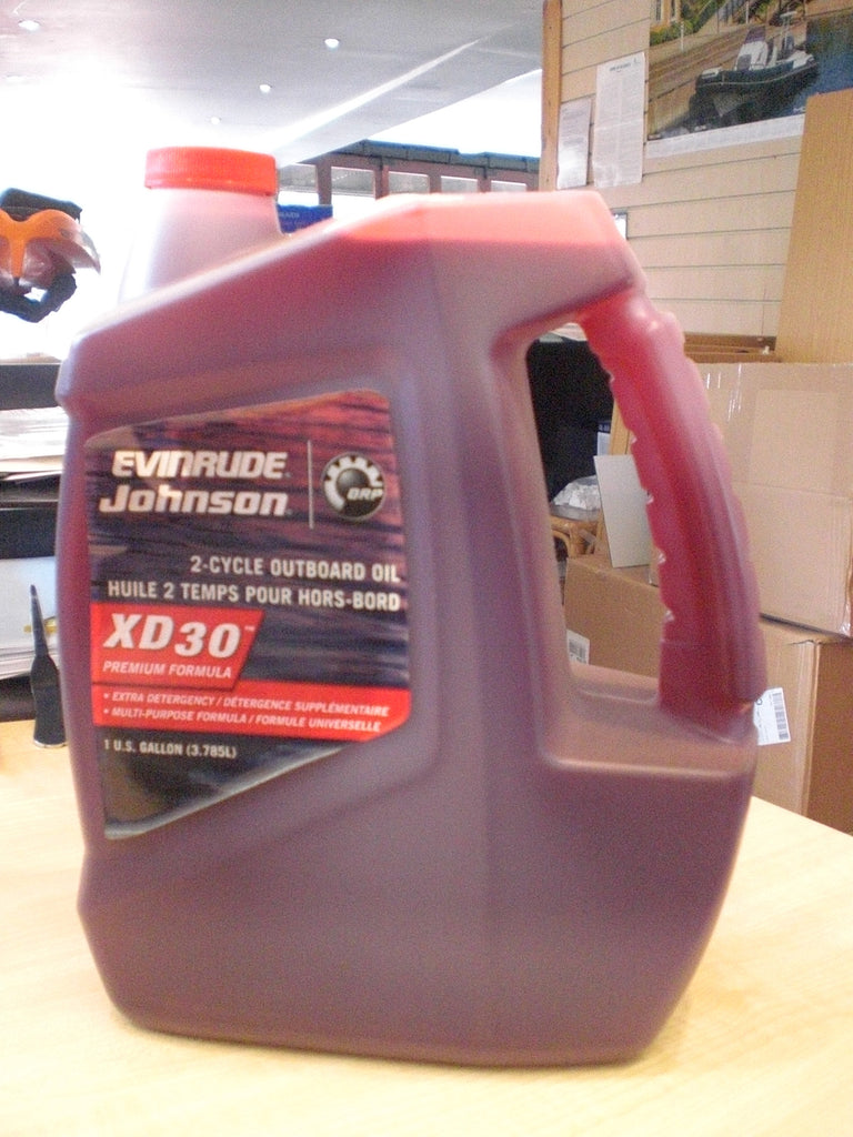 Evinrude Johnson 2-Cycle Outboard Oil 0764349