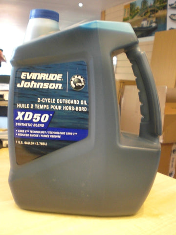Evinrude Johnson 2-Cycle Outboard Oil 0764354