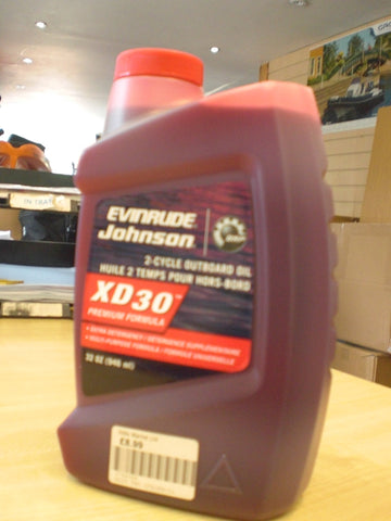 Evinrude Johnson 2-Cycle Outboard Oil 0764348