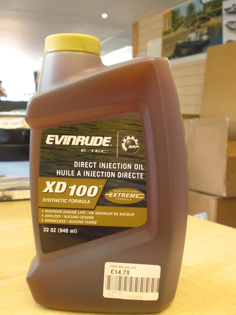 Evinrude Johnson ETEC Direct Injection Oil XD 0765146