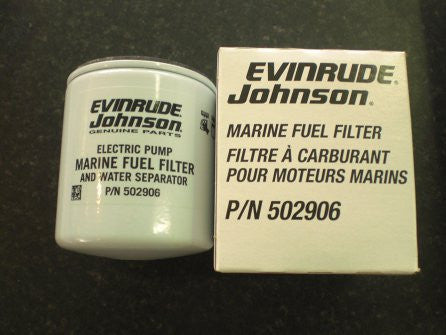 Evinrude Johnson Fuel Filter and Water Separator 5009676