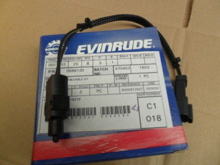 Evinrude Johnson switch and cable assembly 0586130