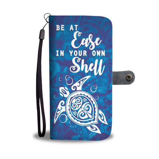 Be At Ease Sea Turtle GoLux™ Wallet Case