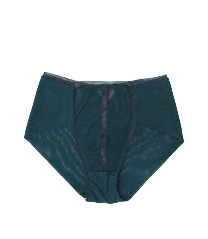 Triangle Highwaist Panty- Evergreen