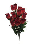 Premium Brick Red Rose Bush