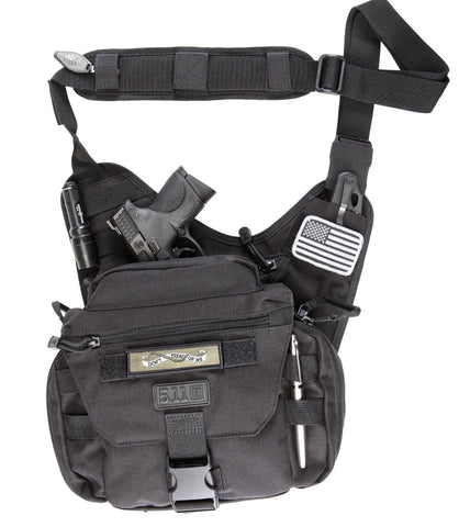 5.11 Tactical- Push Pack, Black