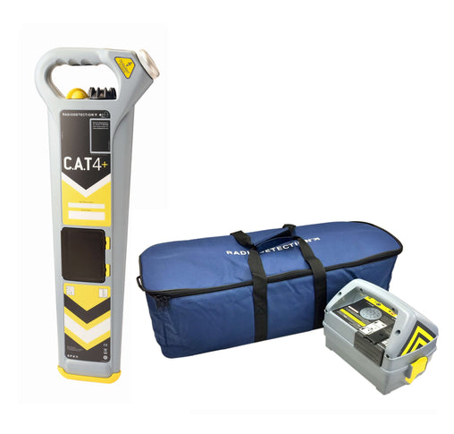 Radiodetection CAT4+ Kit with Genny4 and Bag