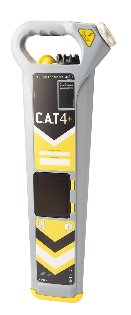 Radiodetection CAT4+ with StrikeAlert Cable Detector