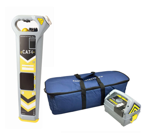 Radiodetection eCAT4+ Kit with Genny4 and Bag