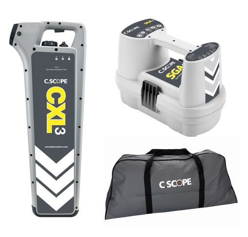 C.Scope CXL3 Top Value Cable Detector Kit with SGA3 and Soft bag - Cable Detector Calibration & Sales