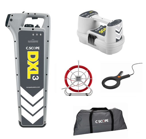 C.Scope DXL3 Top Value Builders Kit with SGA3 Signal Generator and Soft bag - Cable Detector Calibration & Sales
