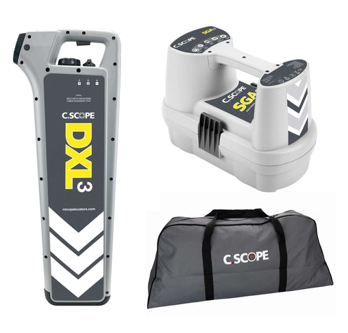 C.Scope DXL3 Top Value Cable Detector Kit with SGA3 and Soft bag - Cable Detector Calibration & Sales