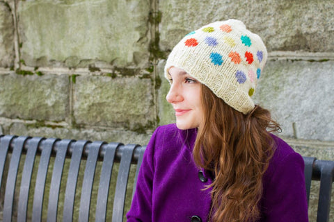 Knit Hat Montadale Yarn (Breed of the Week: Montadale Sheep - Solitude Wool)