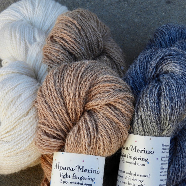 Single Breed Wool Yarns for Knitting and Weaving - Solitude Wool