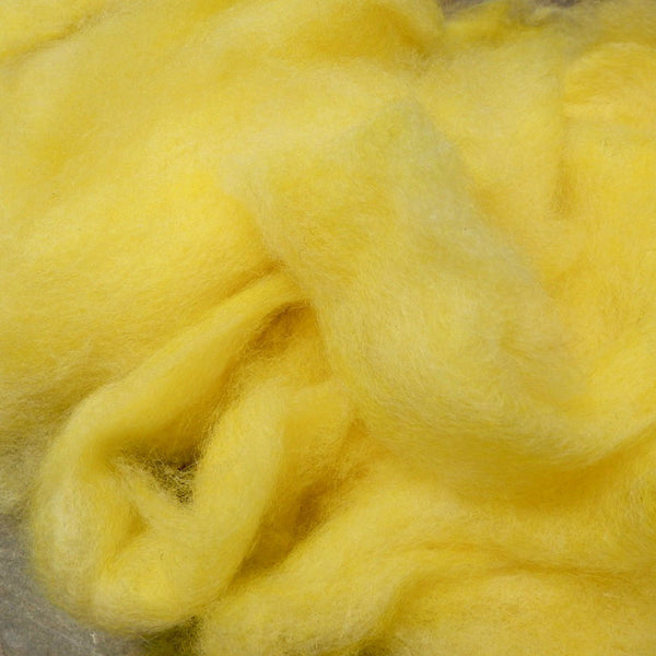 Border Leicester lemon yellow