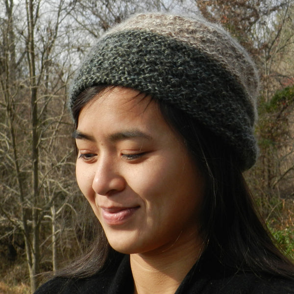 round up hat kit with Icelandic yarn